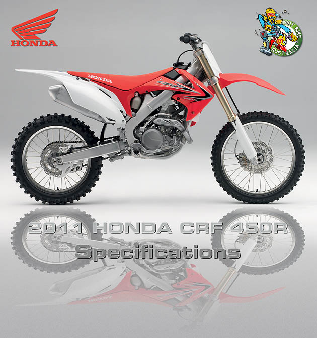 2011 Honda Crf450r Specifications 21072010