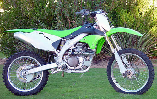 2006 KAWASAKI KXF 450 MX Bike For Sale, Race Ready SOLD