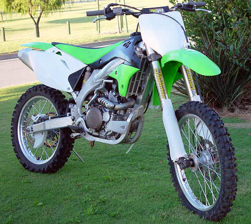 2006 kawasaki kxf 450 mx bike for sale race ready sold. Black Bedroom Furniture Sets. Home Design Ideas
