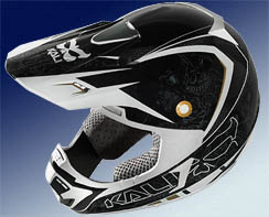 One of the range of Kali Protectives helmet designs   using Don Morgan's Cone-Head® Technology  soon to be available in Australia
